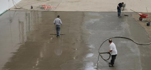 MC-Floor Screed is very well suited to the rapid rehabilitation of industrial floors exposed to heavy wear and tear thanks to its fast hardening action and its high resistance. It is thus ideal for weekend job sites.