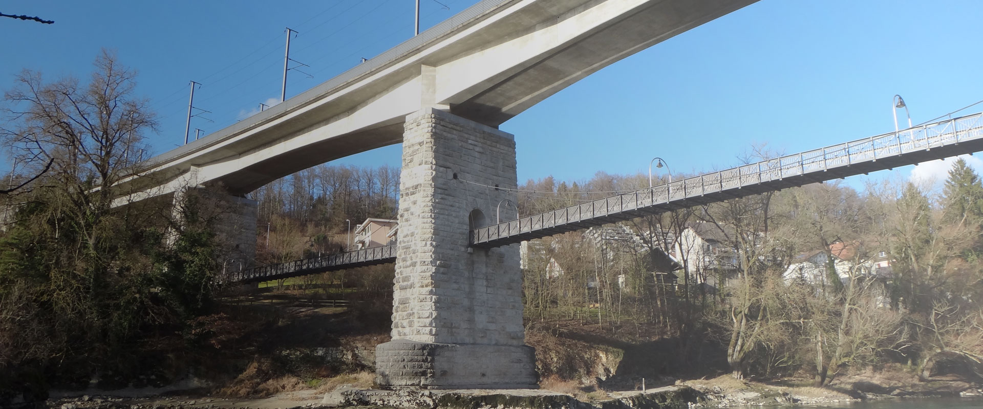 20 year anniversary of the Brugg railway bridge